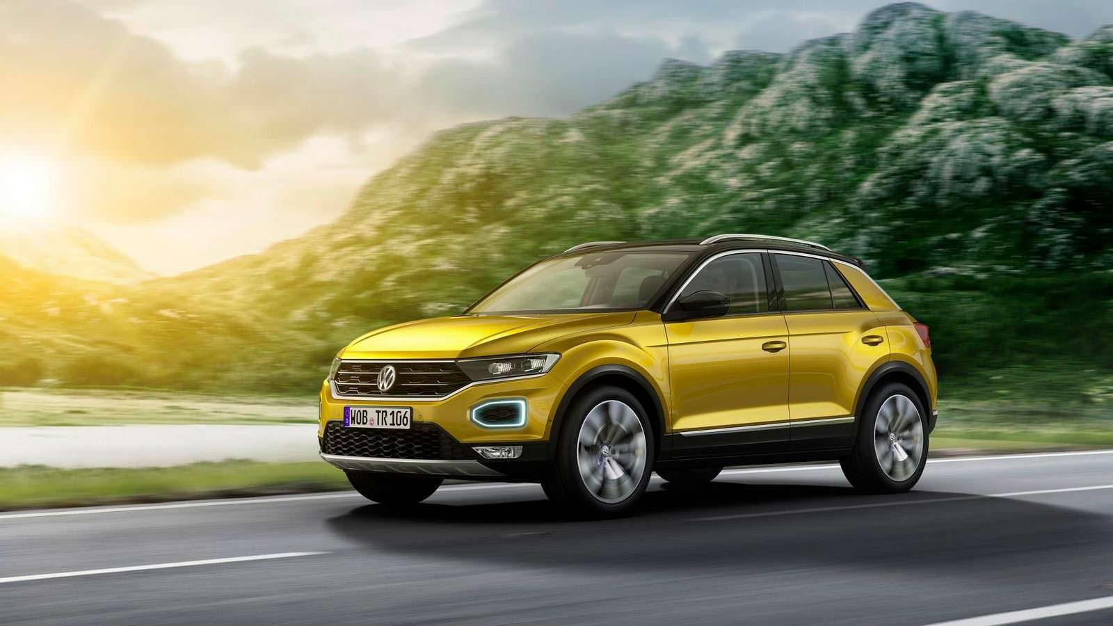 Фото   Volkswagen T-Roc официально