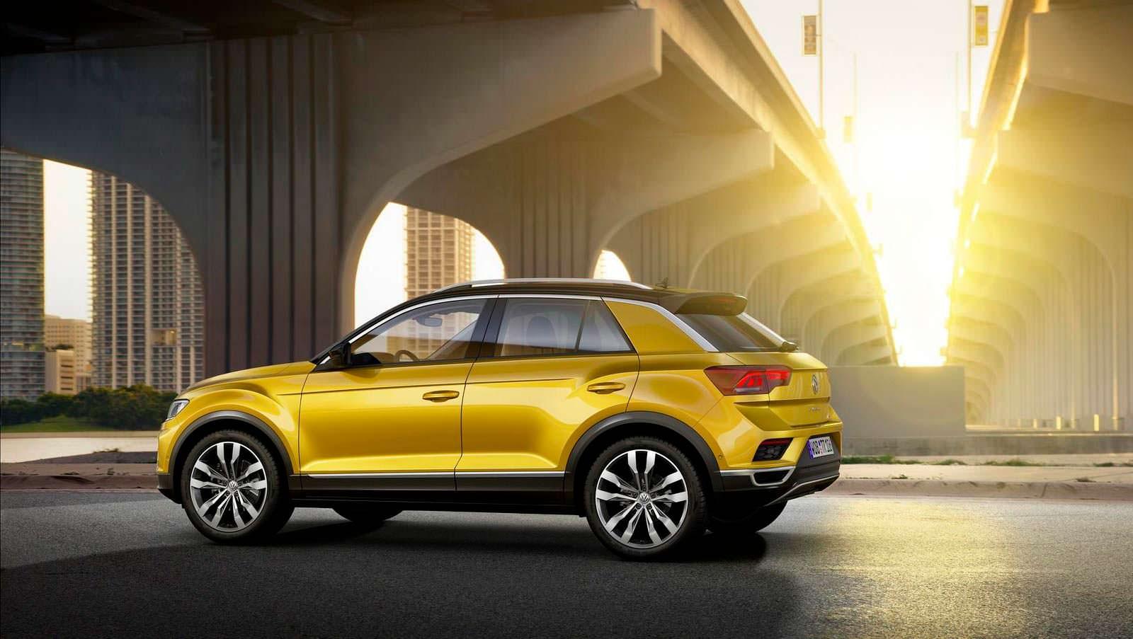 Серийный Volkswagen T-Roc