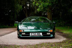 Lamborghini Diablo SV Metallic Green
