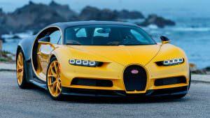 Первый гиперкар Bugatti Chiron в США