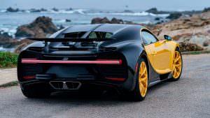 Первый американский Bugatti Chiron