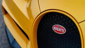 Радиаторная решетка Bugatti Chiron