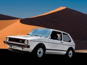 Volkswagen Golf GTI первого поколения. 1976 - 1983 годы