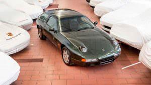 Porsche 928 в музее