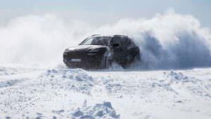 2018 Porsche Cayenne. Испытания холодом