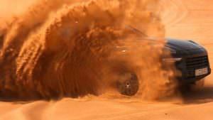 2018 Porsche Cayenne. Испытания в пустыне Дубая