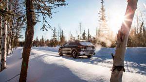 2018 Porsche Cayenne. Испытания низкой температурой