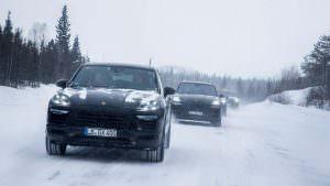 Porsche Cayenne третьего поколения. Испытания на морозе
