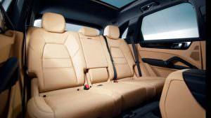 Задние сиденья Porsche Cayenne нового поколения