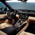 Интерьер Porsche Cayenne нового поколения