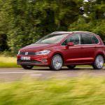 Субкомпактвэн Volkswagen Golf Sportsvan рестайлинг 2018 года