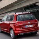 Volkswagen Golf Sportsvan рестайлинг 2018 года