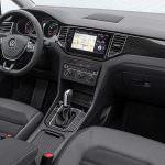 Фото   Интерьер Volkswagen Golf Sportsvan 2018 года