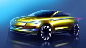 Купе-кроссовер Skoda Vision E Concept #2