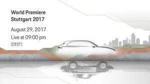 Официальный тизер Porsche Cayenne нового поколения
