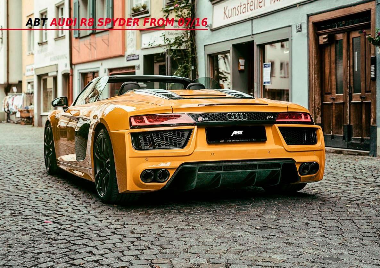Тюнингованная Audi R8 Spyder V10 Plus от ABT Sportsline