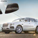Карбоновые накладки на зеркала Bentley Bentayga от DMC