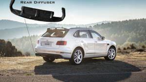 Карбоновый диффузор для Bentley Bentayga от DMC