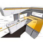 Скетчи салона кемпера Volkswagen California XXL из Crafter-а
