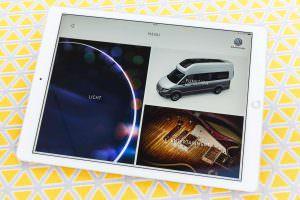 Управление функциями кемпера VW California XXL с планшета