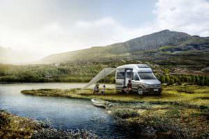 Двухэтажный кемпер Volkswagen California XXL Concept