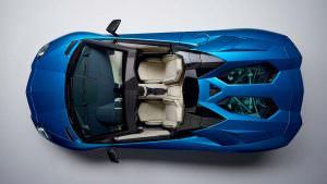 Lamborghini Aventador S Roadster 2018 без верха