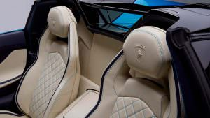 Сиденья Lamborghini Aventador S Roadster