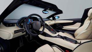 Фото салона Lamborghini Aventador S Roadster