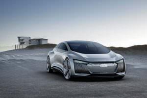 Электрокар с автопилотом Audi Aicon Concept