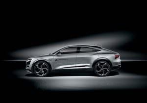 Электрокар Audi Elaine Concept. IAA-2017