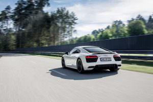 Audi R8 V10 RWS без quattro и центрального дифференциала