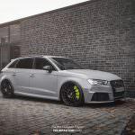 Audi RS3 цвета Nardo Grey