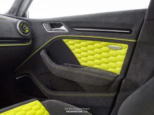 Неоновые карты дверей Audi RS3. Проект Neidfaktor