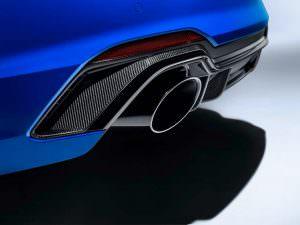 Задний диффузор Audi RS4 Avant Carbon Edition