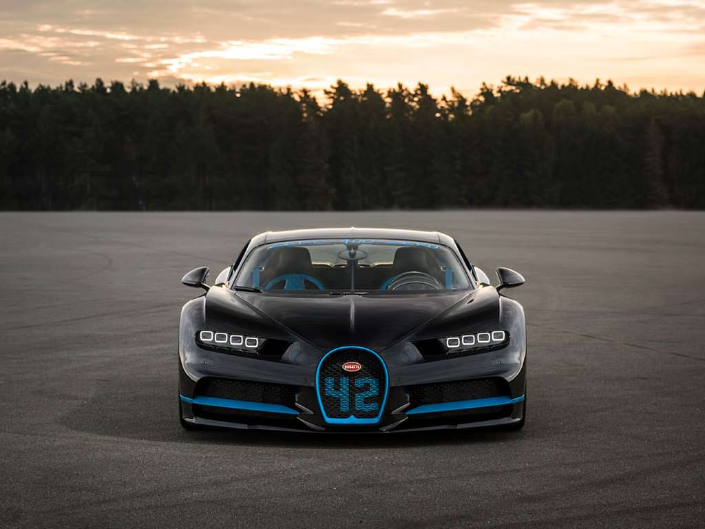 Фото Bugatti Chiron 42 Seconds