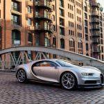 Bugatti Chiron в Гамбурге, Германия