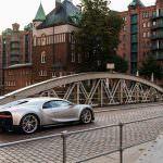 Гиперкар Bugatti Chiron в Гамбурге