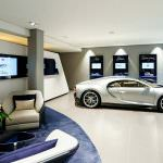 Шоурум Bugatti в Гамбурге. 4-й в Германии