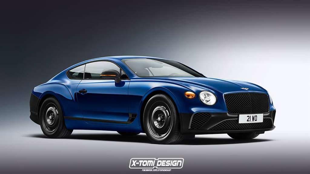 Базовый Bentley Continental GT 2018 по версии X-Tomi Design