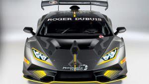 Гоночный Lamborghini Huracan Super Trofeo Evo