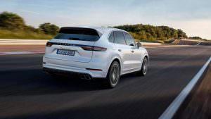 Porsche Cayenne Turbo нового поколения