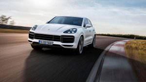 Внедорожник Porsche Cayenne Turbo нового поколения