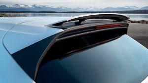 Активная аэродинамика Porsche Cayenne Turbo 2018
