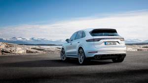 Внедорожник Porsche Cayenne Turbo 2018