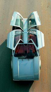 Porsche Tapiro с дверьмя крылья-чайки