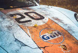 Porsche 911 GT3 RS: капот с эффектом ржавчины