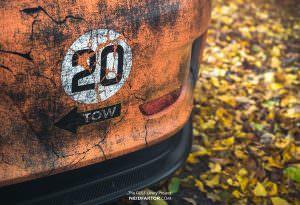 Porsche 911 GT3 RS с эффектом состаривания от Neidfaktor