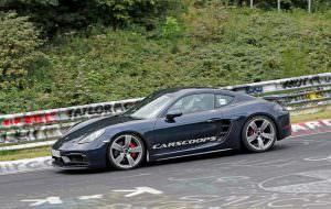 Испытания Porsche 718 Cayman GTS в Нюрбургринге