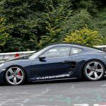 Тесты Porsche 718 Cayman GTS в Нюрбургринге