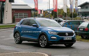 Дорожные испытания Volkswagen T-Roc R 2017
